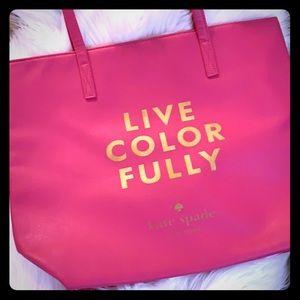 Kate Spade Hans bag... pink and orange.